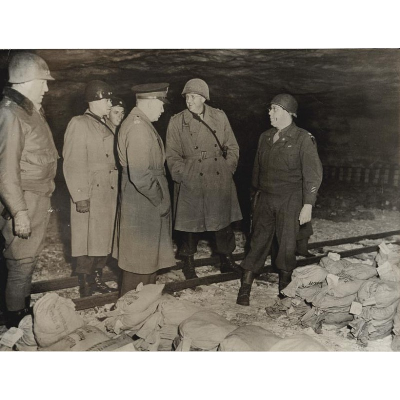 Nazi gold at salt mine, Germany. Original photography (1945)