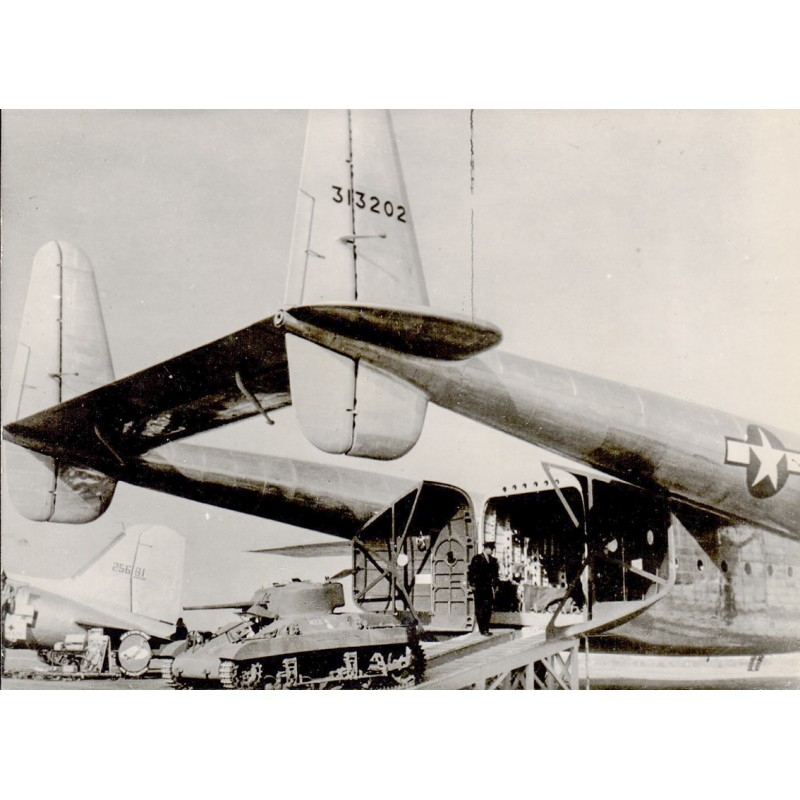 C-28 Military Cargo Plane at Washington Transport Plane Exhibition.  Original photography (1944-45)