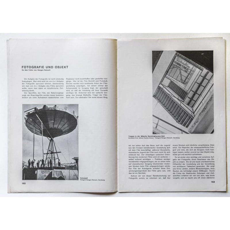 DIE FORM. Zeitschrift für gestaltende Arbeit. Heft 07/1929