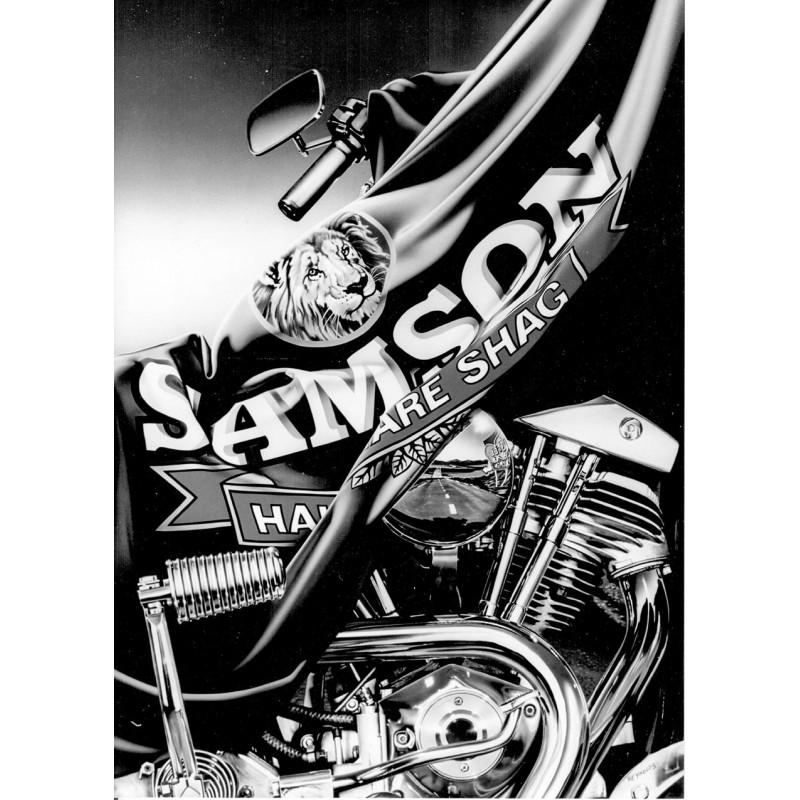 REYNOLDS, Graham: (Tabak) Werbung für Samson. Original-Fotgrafie in Hochglanz (1991).