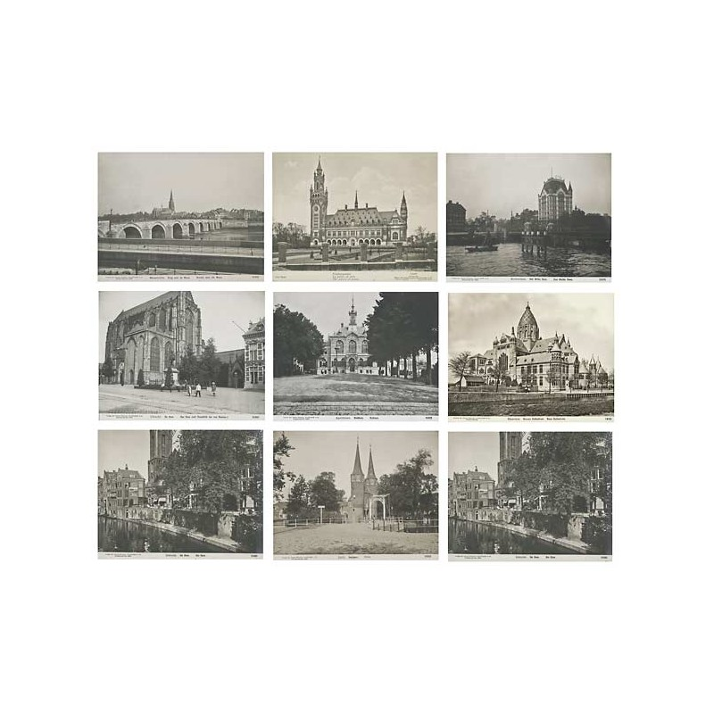 Netherlands / Holland: 9 original photographs (1909)