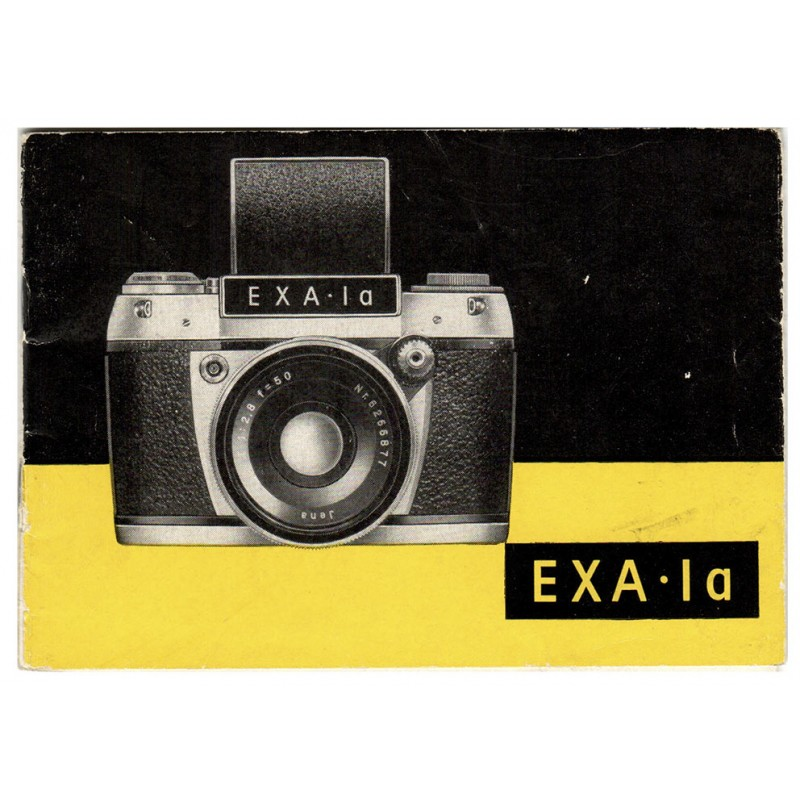 Ihagee Kamerawerk, Dresden: Exa Ia. Bedienungsanleitung (1964).