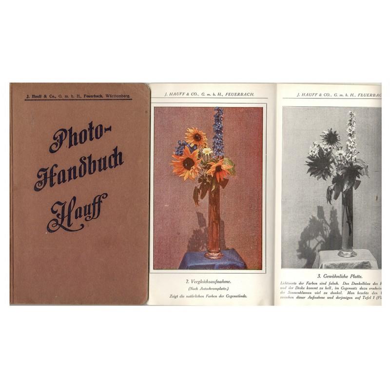 Hauff & Co.: PHOTO HANDBUCH für den Gebrauch der photographischen Erzeugnisse (1912)