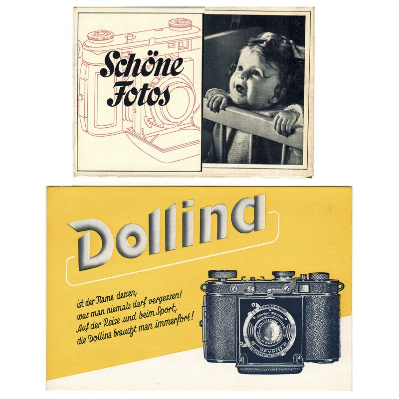 CERTO Kamera. Zwei Werbeschriften (1938 / 1939)