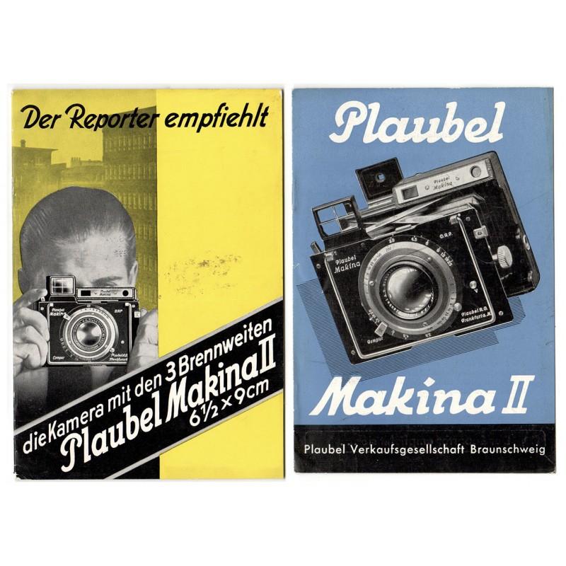 PLAUBEL Kamerawerk, Braunschweig: 2 Werkschriften (1934 / 1937)
