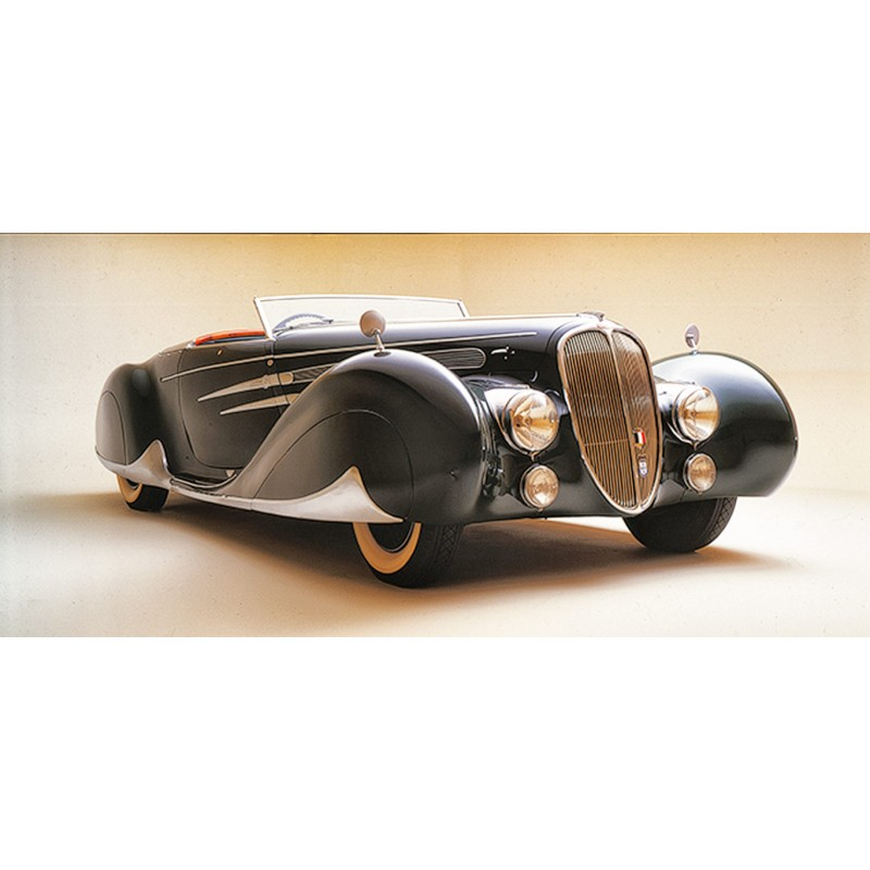 du Bois-Reymond, Prosper: Luxus-Kabriolett Delahaye 135M (1939). Farbdiapositiv (1977)