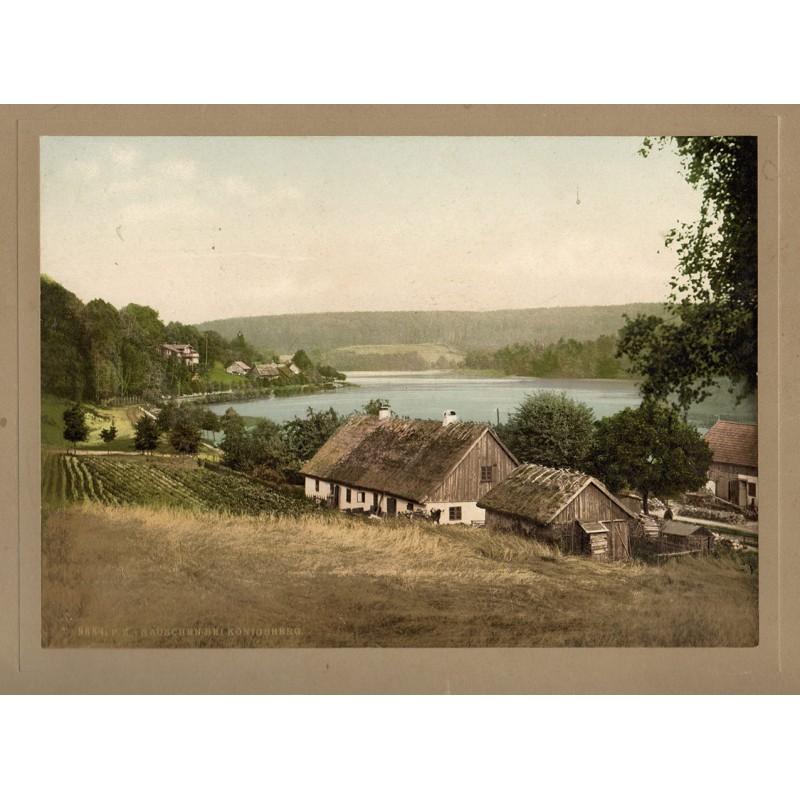 Photochrom: RAUSCHEN bei KÖNIGSBERG / OSTPREUSSEN (ca. 1900).