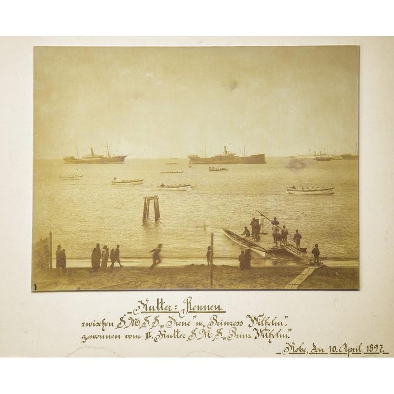 Deutsche Marine in Japan: Kutter-Rennen (1897)