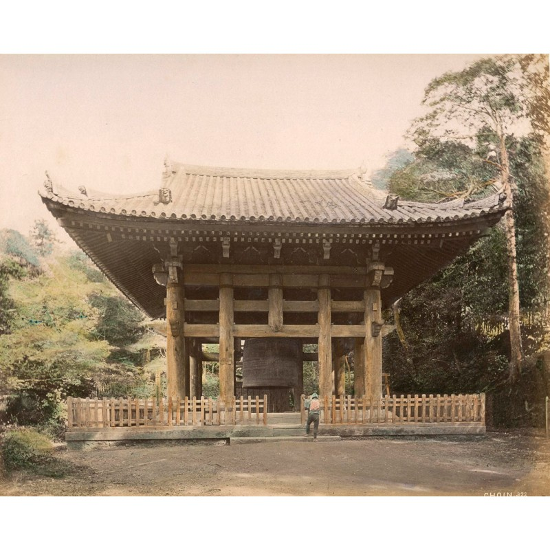 STILLFRIED, Baron Raimund and Hermann ANDERSEN: Japan: Choin Temple, Kyoto. Albumen print (approx. 1880).