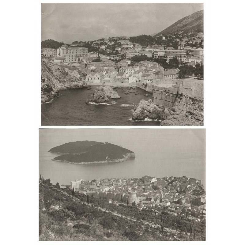 Dubrovnik, Croatia: Two original photographs (1911 / 1913)