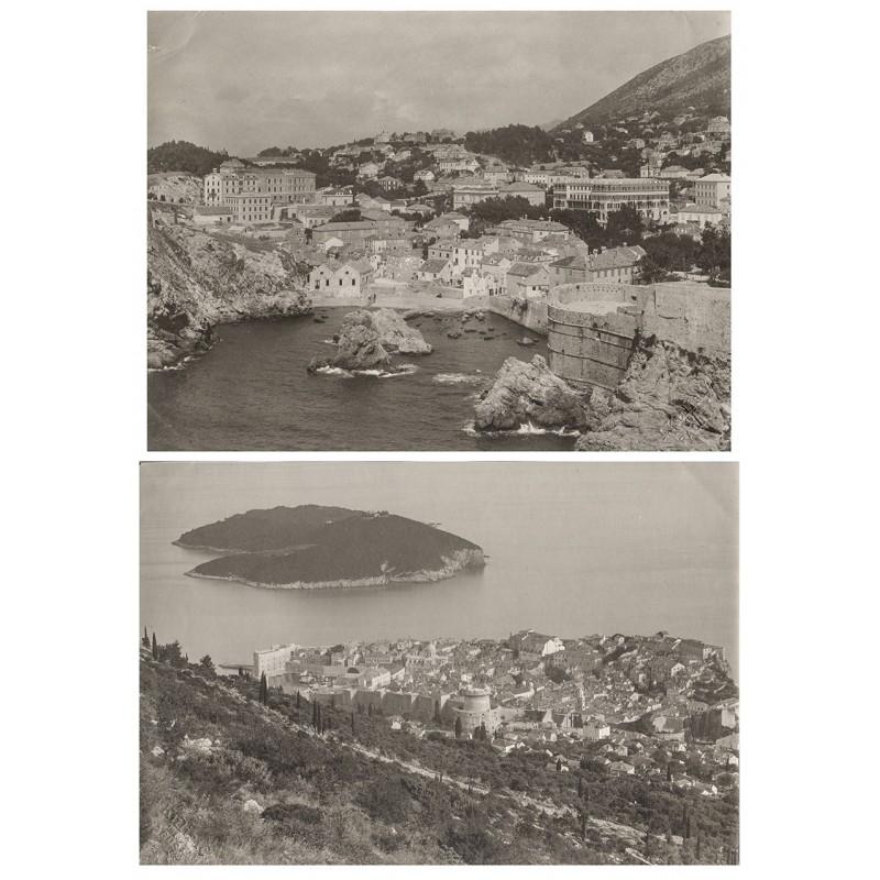 Dubrovnik, Kroatien: Zwei Original Fotografien (1911 / 1913)
