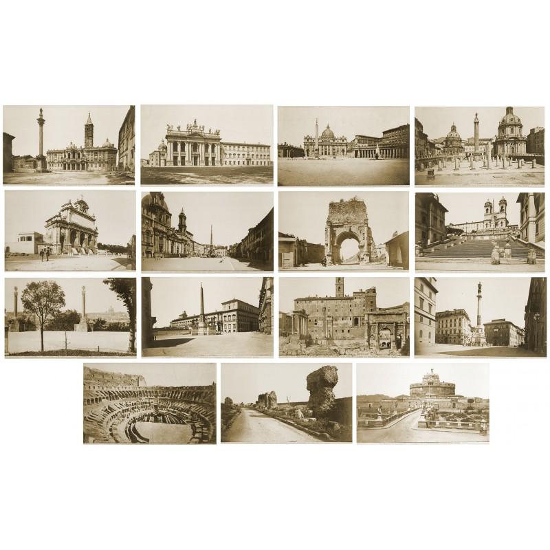 Rom in 15 Original Fotografien (1880 - 1890)