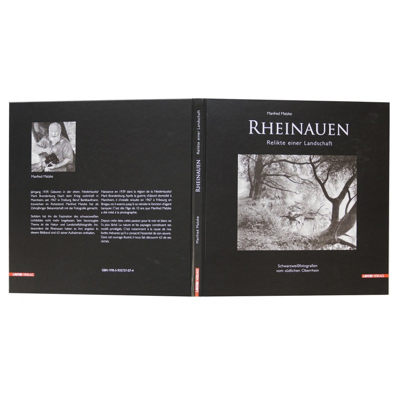 MATZKE, Manfred: Rheinauen. Collectors Edition mit Original Fotografie (2009)