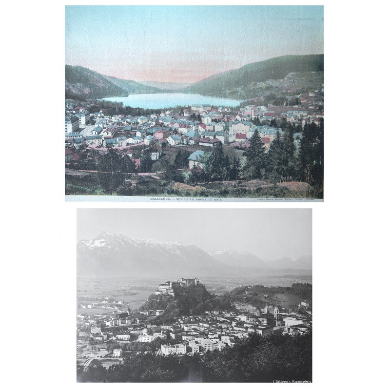Handcoloured view of GERARDMER (approx. 1900)