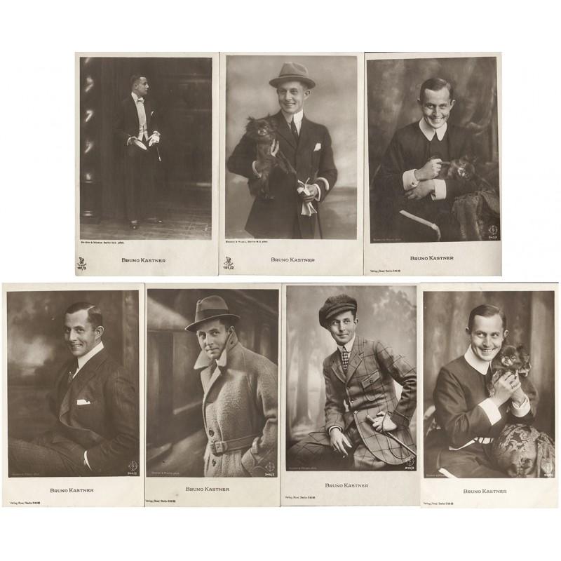 Bruno KASTNER. 7 Original-Fotografien. Silbergelatine-Abzüge (1920er Jahre)