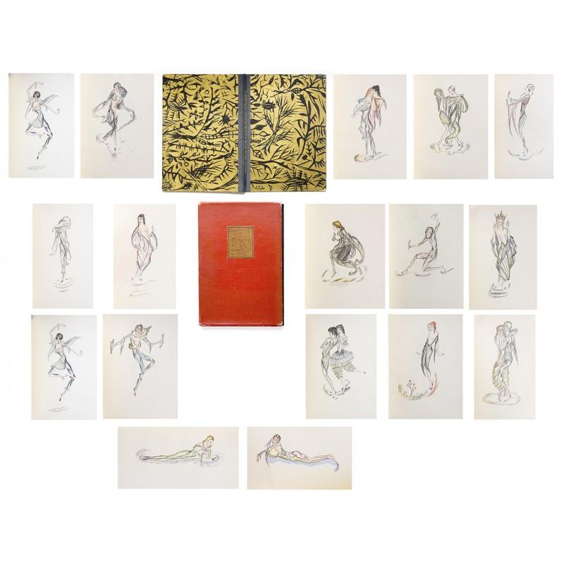 RILKE, Rainer Maria und Lotte PRITZEL: Puppen. Mit 16 handkolorierten Tafeln (1921)