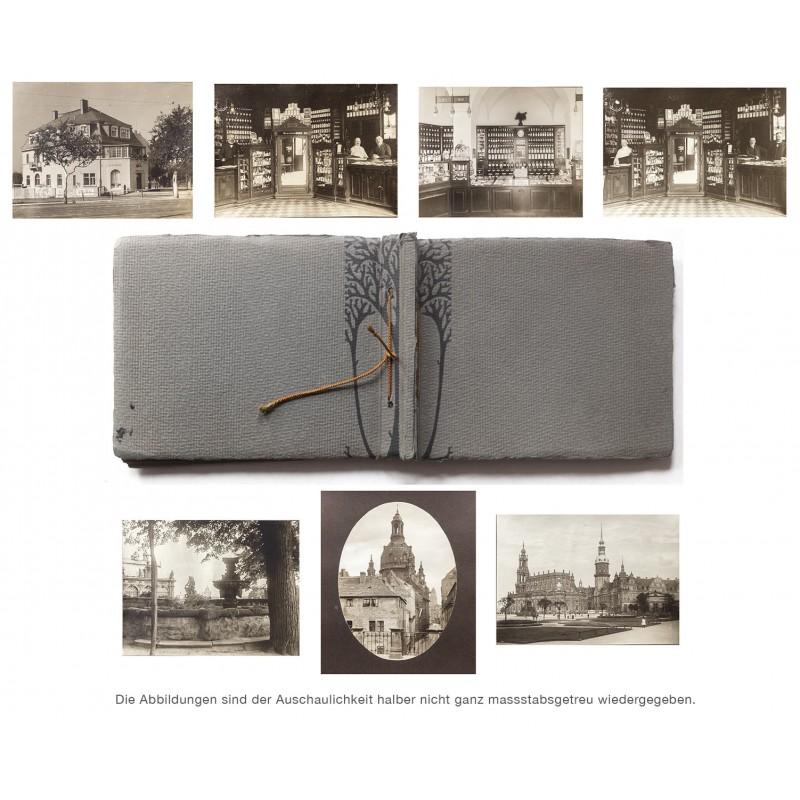 Dresden: Apotheken-Einrichtung im Jugendstil (um 1910)