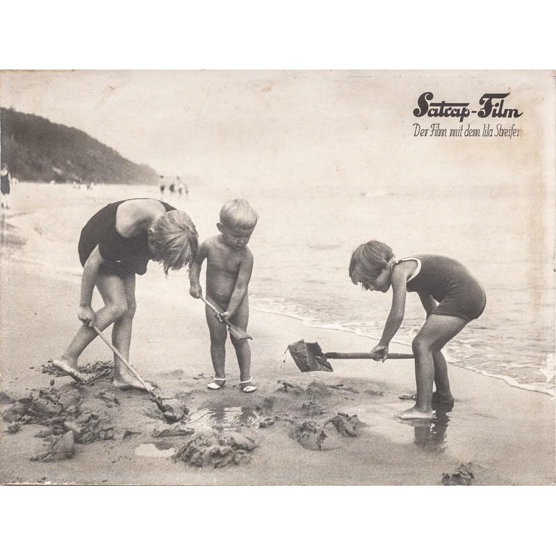 SATRAP-FILM. Werbeplakat in Original-Fotografie (1930er Jahre)