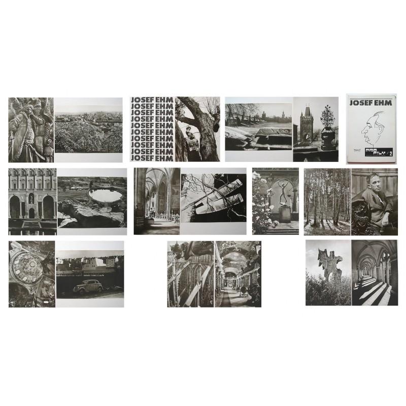 Josef EHM. PORTFOLIO with 18 original photographs (1979)