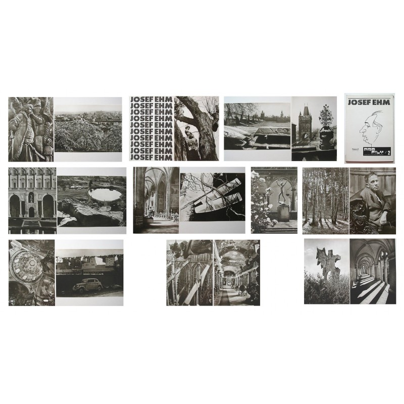 Josef EHM. PORTFOLIO with 18 original photographies (1979)