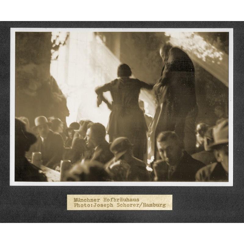 Joseph Schorer: Hofbraeuhaus Munic. Original photography
