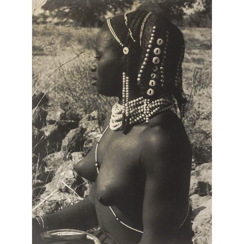 MAYDELL, A. v.: Black Girl. Original photography (1930th)