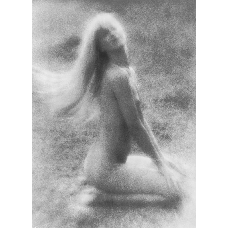 RÖSSING, Roger: Akt-Fotografie. Original Fotografie. Silbergelatine Abzug (1982)