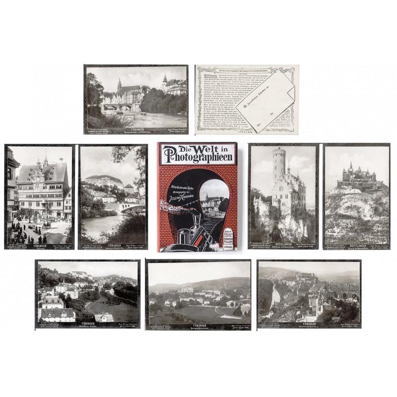 NPG: Portfolio mit 10 Original Fotografien von TÜBINGEN u.U. (ca. 1905)