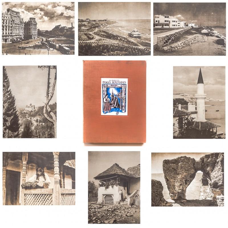 190 Fotografien von Rumänien auf Tiefdruck-Tafeln - BADAUTA, Al.: Images Roumaines (1932)