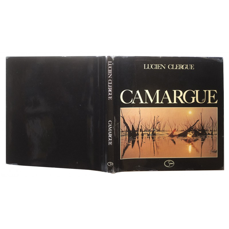 Lucien CLERGUE: Camargue. With handwritten dedication (1978)