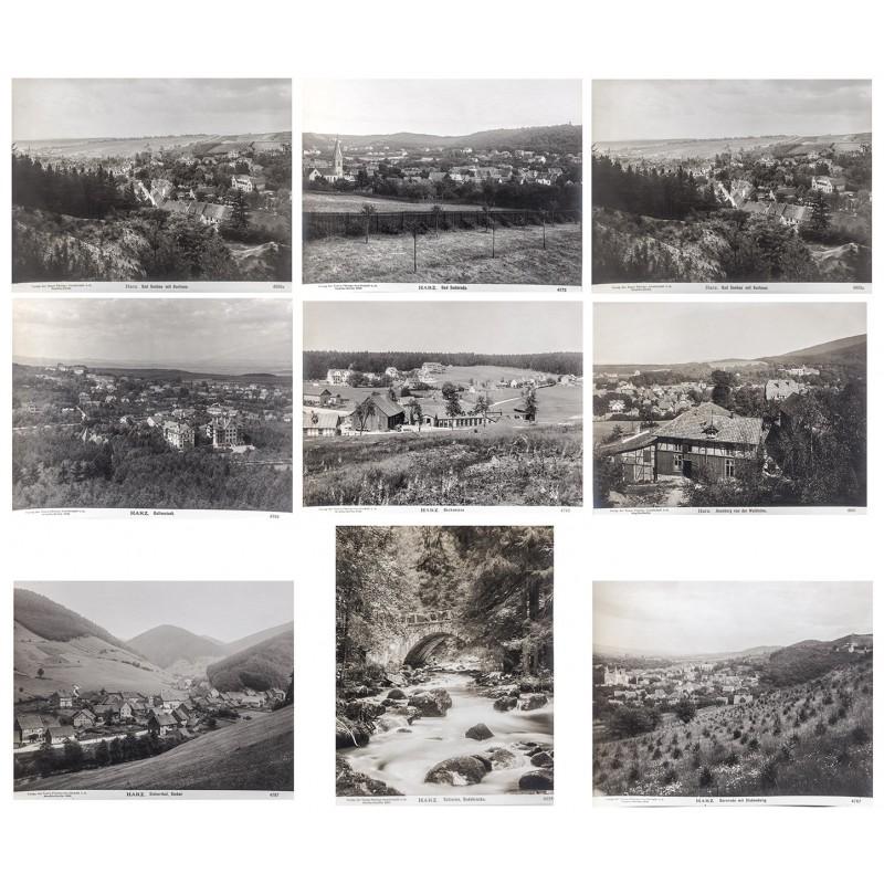 NPG: Der Harz in 27 historischen Original Fotografien (1904 - 1906)