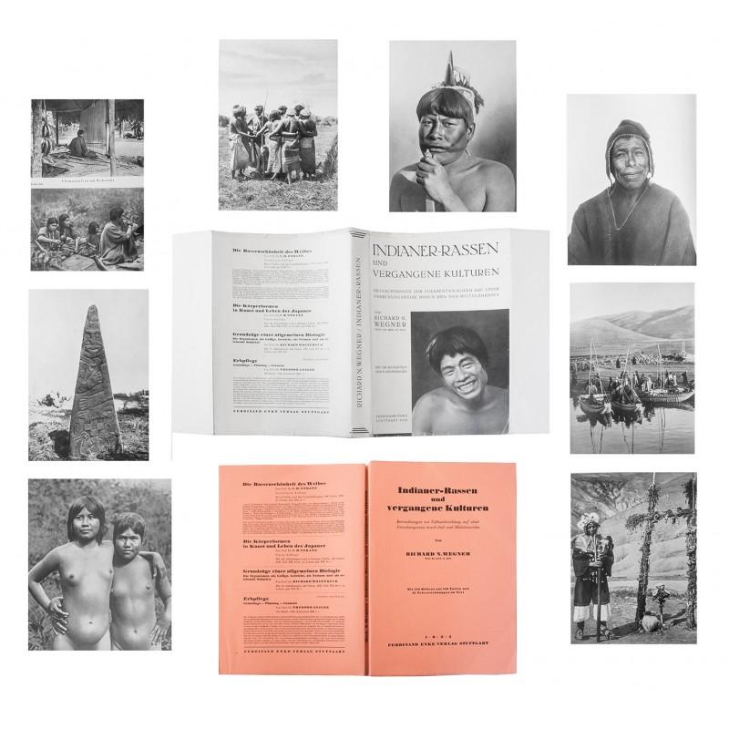 Wegner: Indianer-Rassen. Betrachtungen .. auf einer Forschungsreise durch Süd- und Mittelamerika (1934)