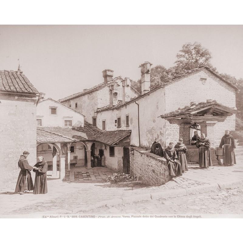 Alinari: CASTENIO. Zwei Original Fotografien (ca. 1890).