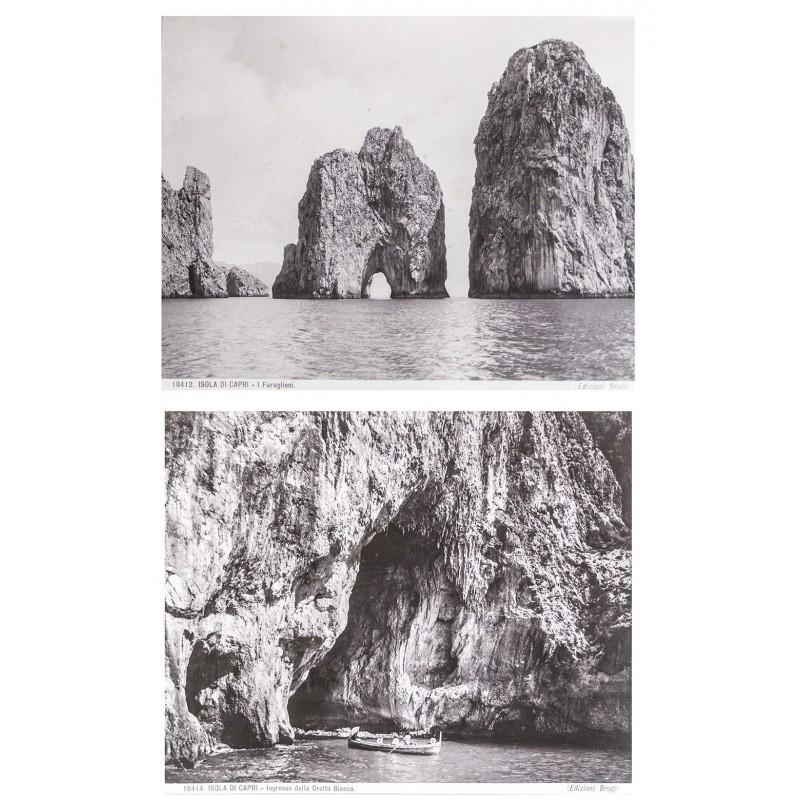 Editione Brogi: Isola di Capri. Zwei Original-Fotografien (ca. 1895)
