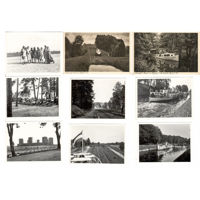Ostpreussen Konvolut 32 Original Fotografien, 2 Tiefdrucke (1930er Jahre)