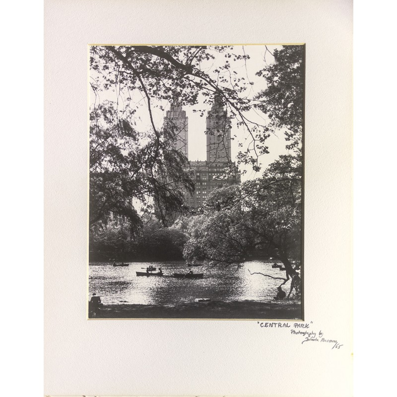 BRESSON, Jolanta: New York. Central Park.  Original Fotografie (1965)