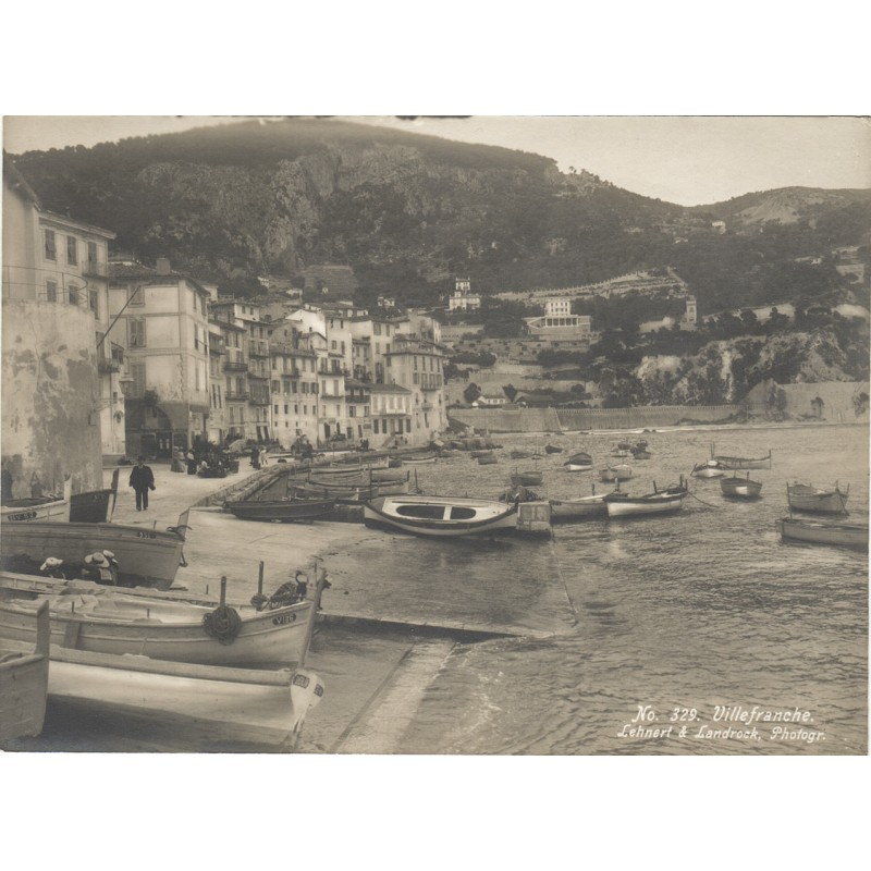 LEHNERT & LANDROCK: VILLEFRANCHE-SUR-MER. Original photography (1910th)
