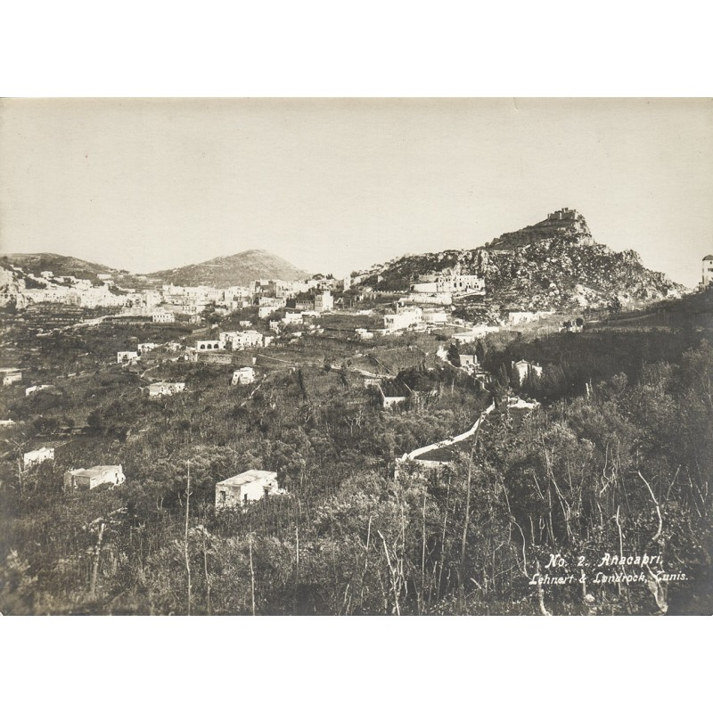 LEHNERT & LANDROCK: ANACAPRI. Original Fotografie (ca. 1910)