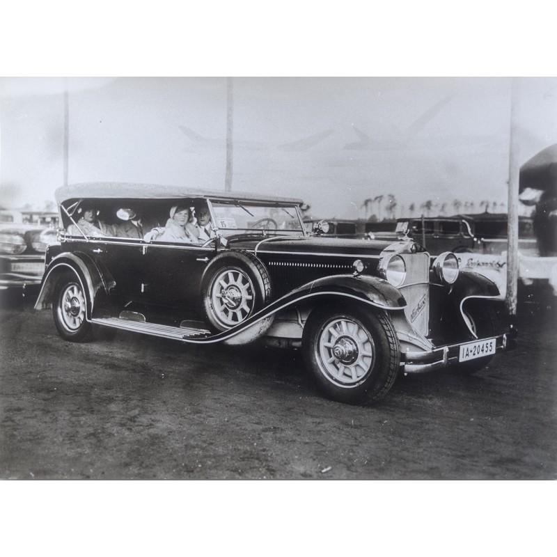 Mercedes-Benz Nürnberg 460 Cabriolet (1930). Original Fotografie (1931 - Abzug aus den 1970er Jahren).