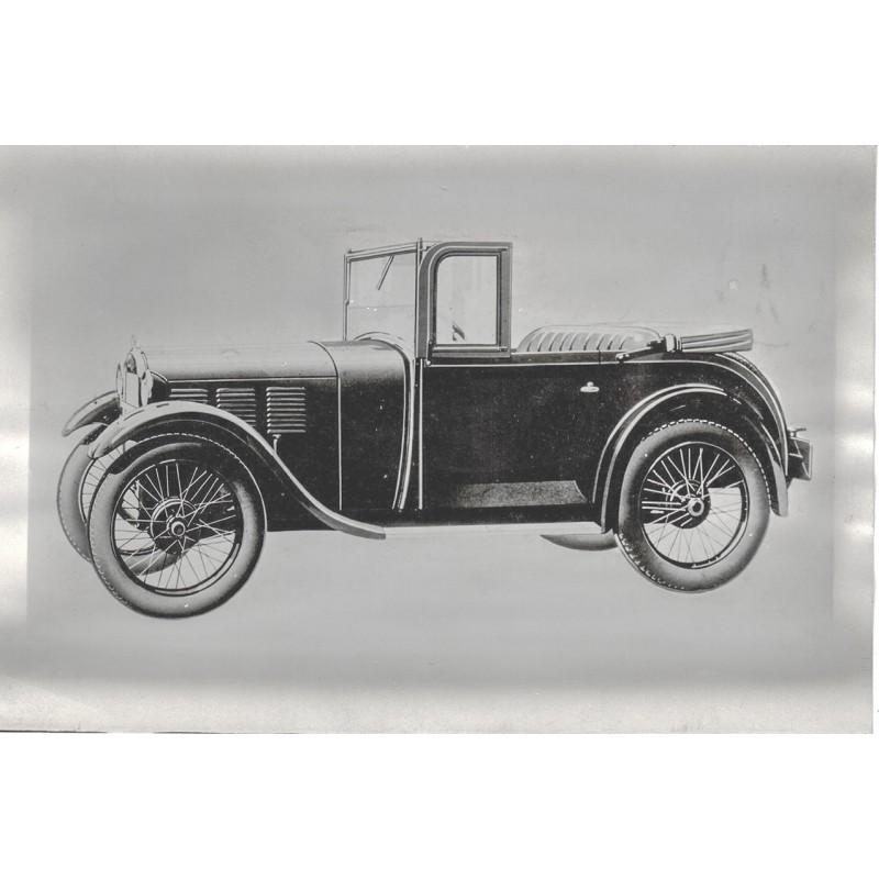 BMW: Das erste BMW Automobil - BMW 3/15 PS Kleinwagen Baujahr 1928. Original Fotografie
