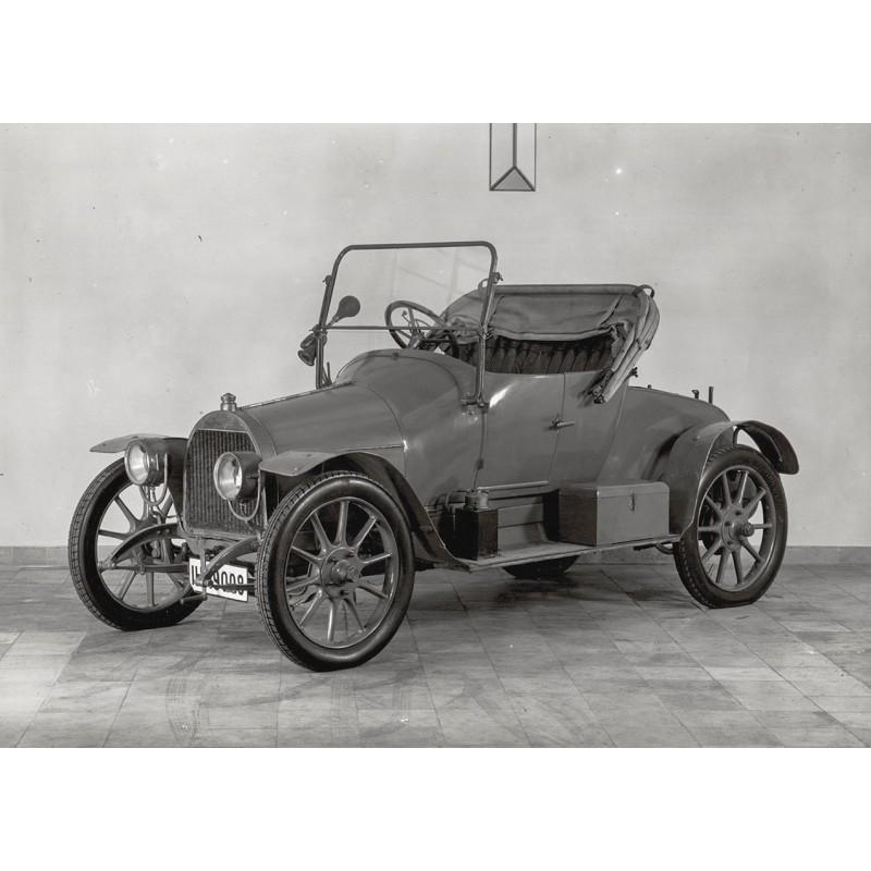 "Opel Fahrzeugwerk: Opel ""Torpedo"" 5/14 PS, Baujahr 1911. Original Fotografie"