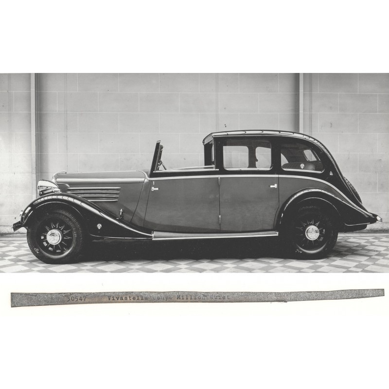 Renault Vivastella Coupe, approx. 1928. Original photography (print 1960th)