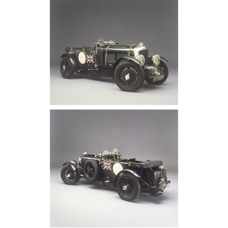 "Prosper du Bois-Reymond: BENTLEY ""Blower"" 4,5 ltr. Kompressor, 1930."