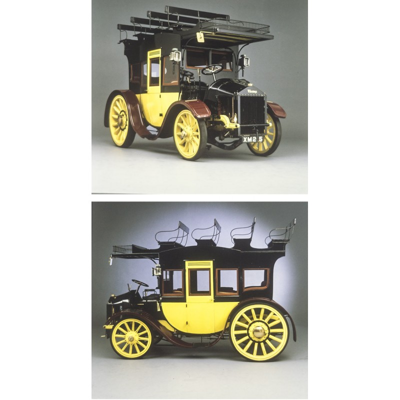 Prosper du Bois-Reymond: THAMES - 48-HP MOTOR STAGE COACH, 1913.