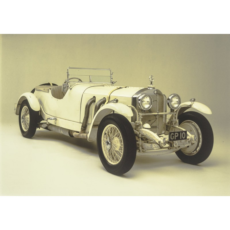 Prosper du Bois-Reymond: MERCEDES-BENZ 38/250 TT, 1929. Big sized Kodak color slide (1970th).