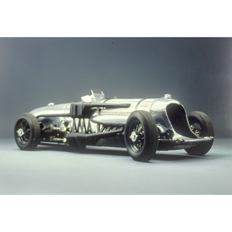 Prosper du Bois-Reymond (Photo Studio Zurich, Switzerland): NAPIER-RAILTON (1933). Big sized Kodak color slide (1977)