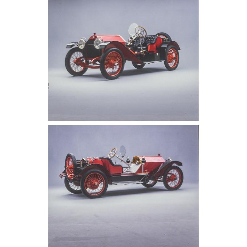 Prosper du Bois-Reymond (Foto Studio Zürich): STUTZ BEARCAT Serie B (1913)