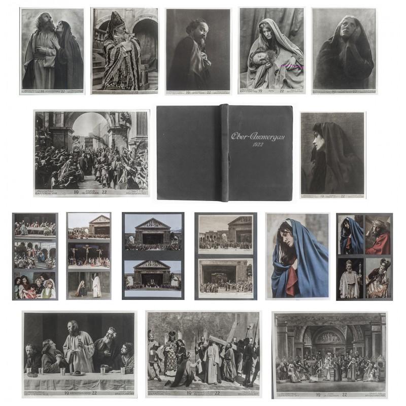 Grosses Album der Passionsspiele von Oberammergau 1922