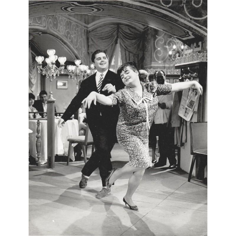 """Trude Herr und Klaus Dahlen im Schlagerfilm """"Meine Frau das Callgirl""""(1961)"""