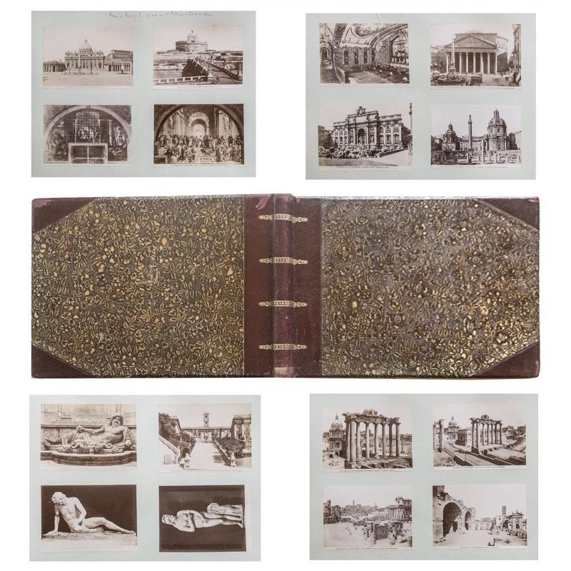 Editione Alinari und Editione Brogi: 77 Ansichten aus ITALIEN: Rom und Neapael - Pompeji (um 1900)